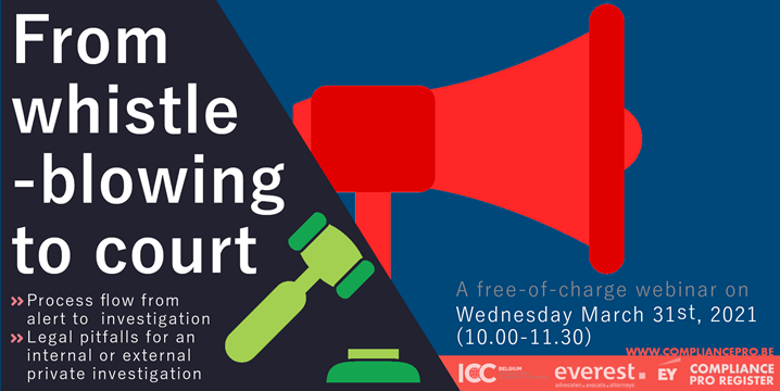 "WEBINAR: ""From whistle-blowing to court"""