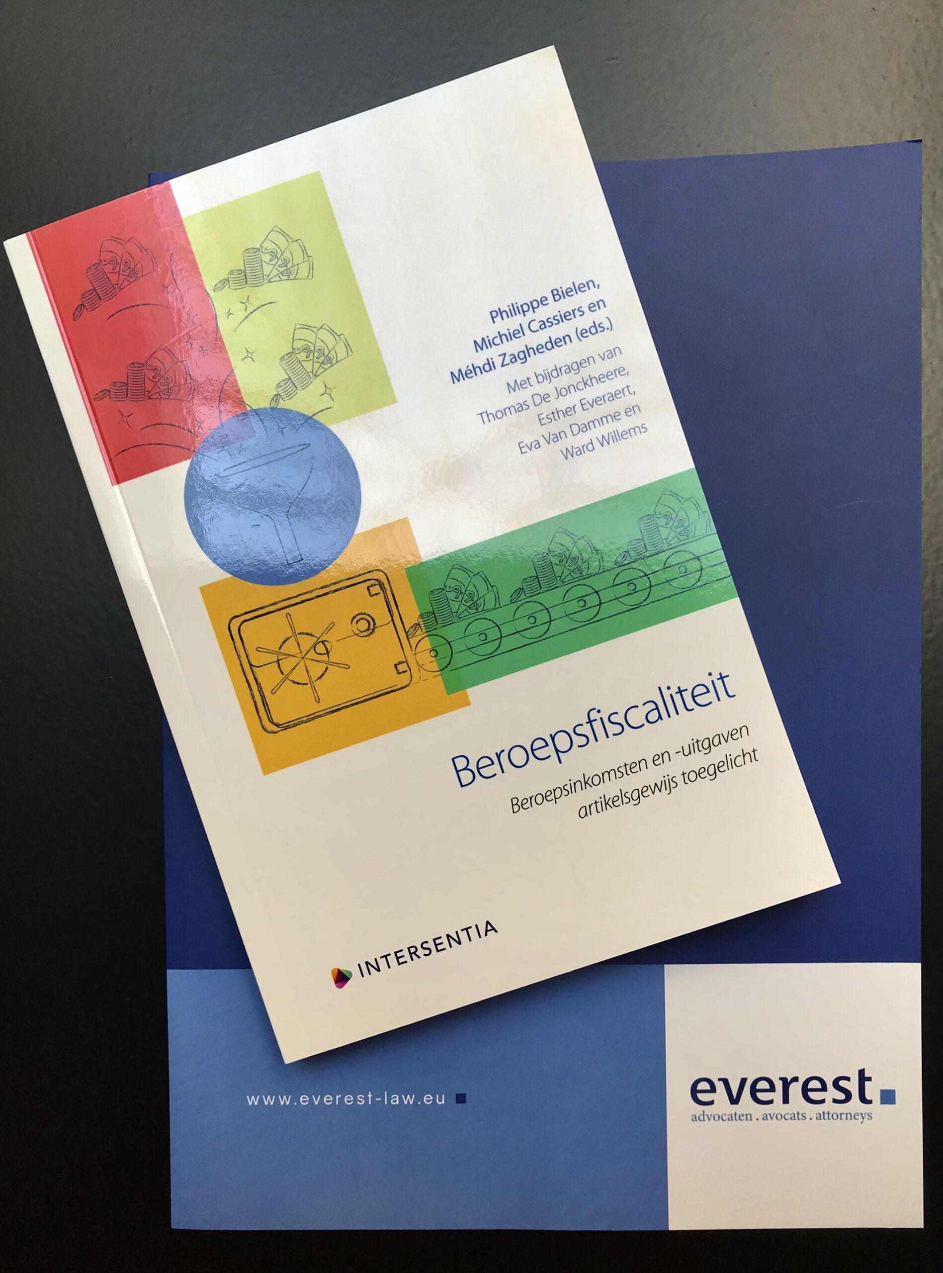 Publicatie 'Beroepsfiscaliteit' bij Intersentia